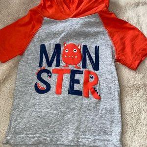 """Monster"" Crazy 8 tshirt"